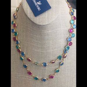 💃 💃 💃 Swarovski Bezel Crystal Necklace